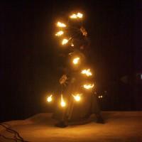 Spectacle de feu par les Acroballes - Fuego