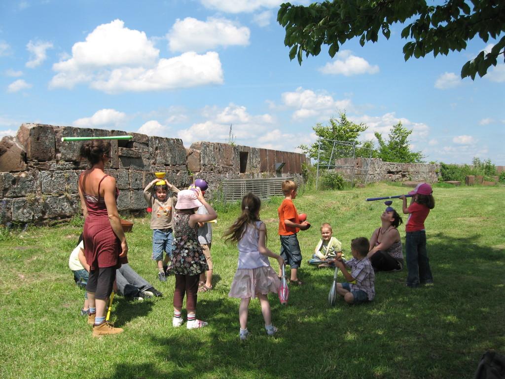 ateliers pédagogiques des Acroballes