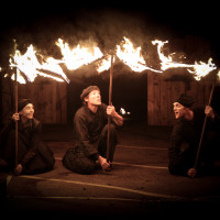 Spectacle de feu - Les Acroballes - Combustion spontanée