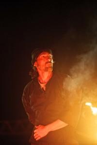Spectacle de feu - Les Acroballes - Eric